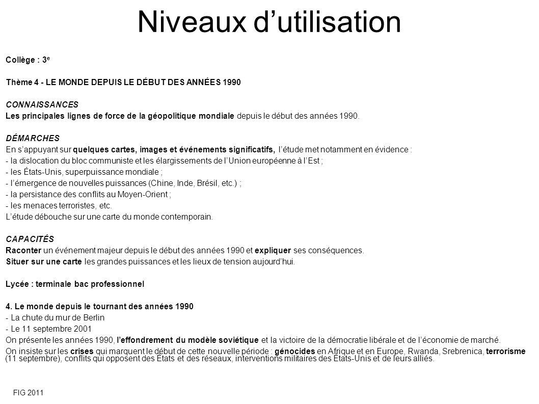 Que devient la Françafrique depuis la « rupture » de 2007 ? 14 FIG 2011 Extrait du poster
