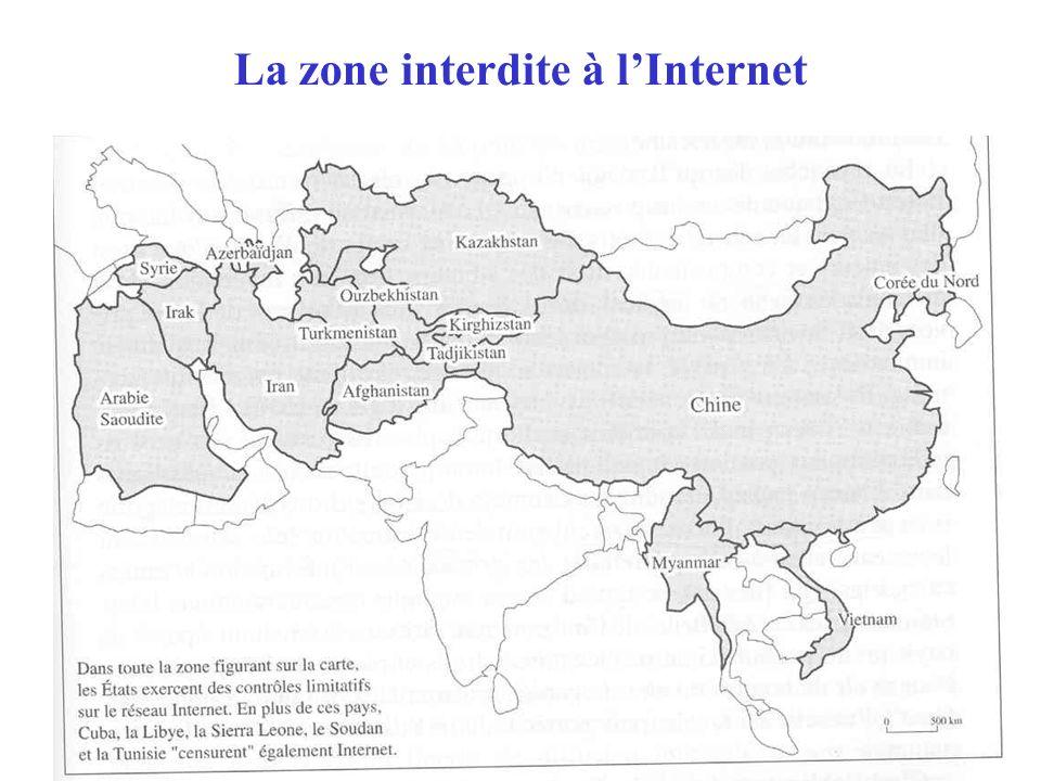 La zone interdite à lInternet