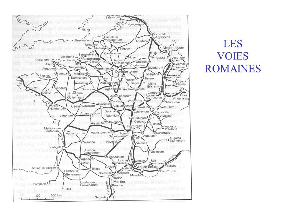 LES VOIES ROMAINES Insérer voies romaines figPlanhol, 54