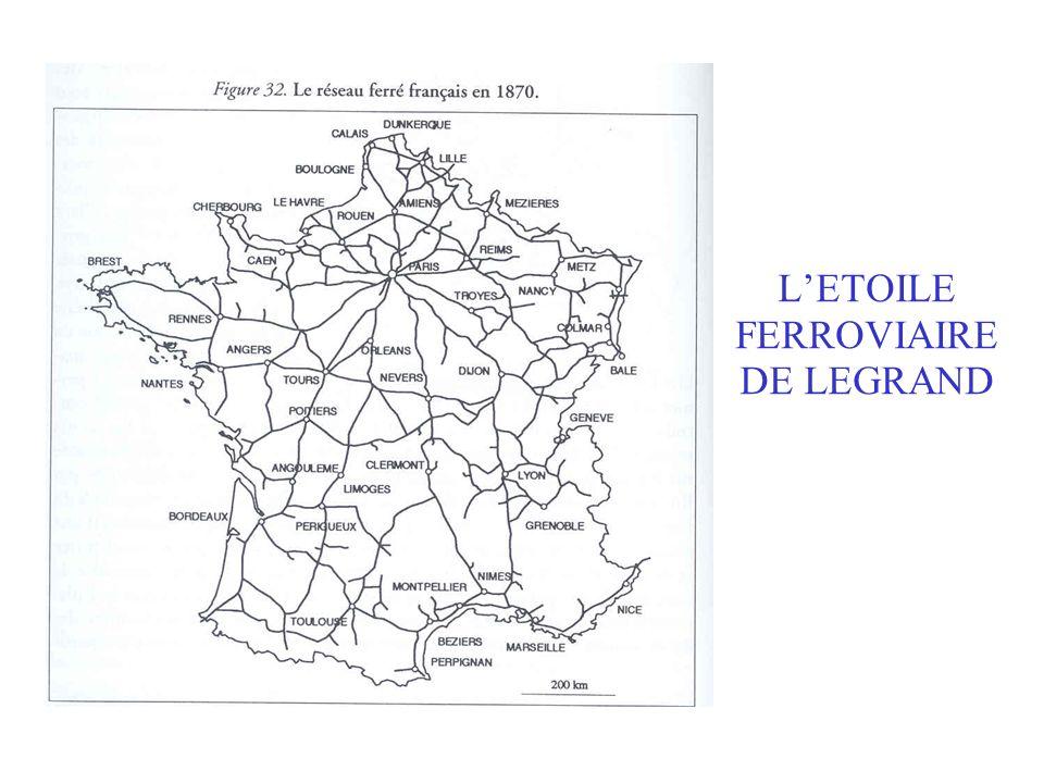 LETOILE FERROVIAIRE DE LEGRAND