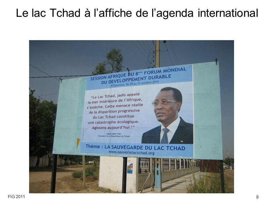 Le lac Tchad à laffiche de lagenda international FIG 2011 8