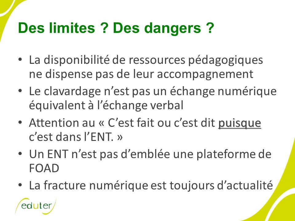 Des limites . Des dangers .