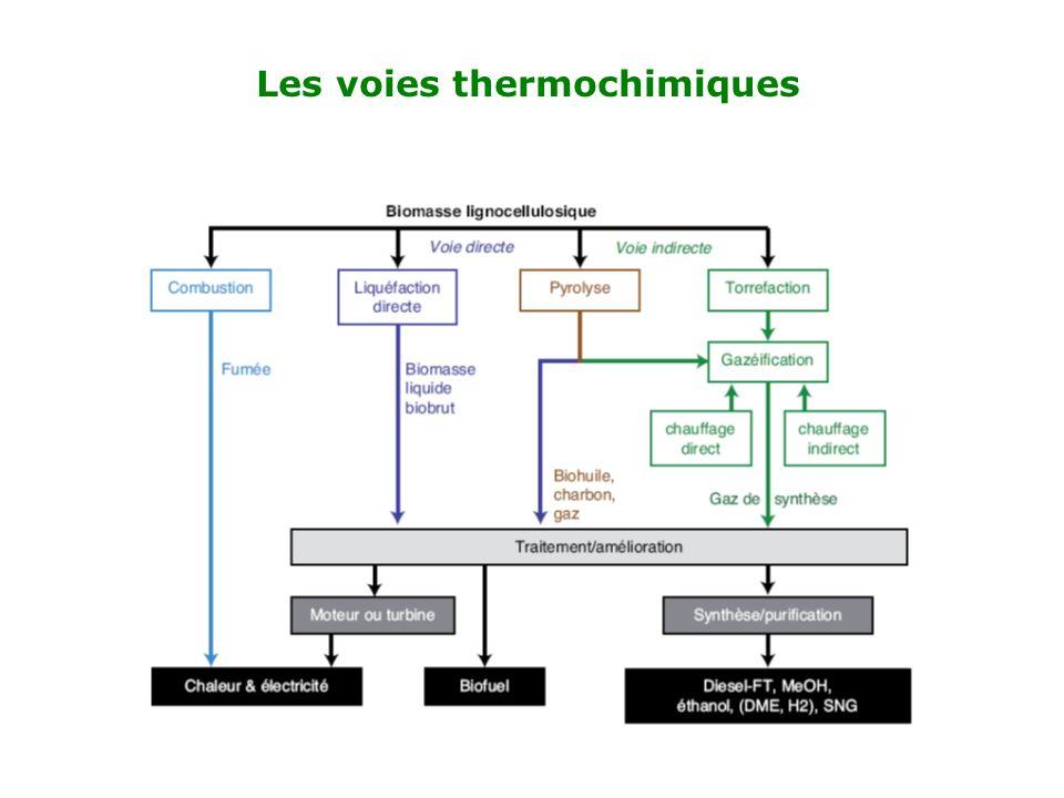 Les voies thermochimiques