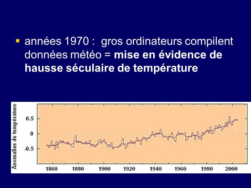 Pour les « experts » : réchauffement pas naturel mais lié Révolution industrielle, car composition chimique de latmosphère modifiée machine à vapeur, utilisation du charbon puis du pétrole, pour se chauffer et pour lénergie motrice,… produit résidu lors combustion = CO2.