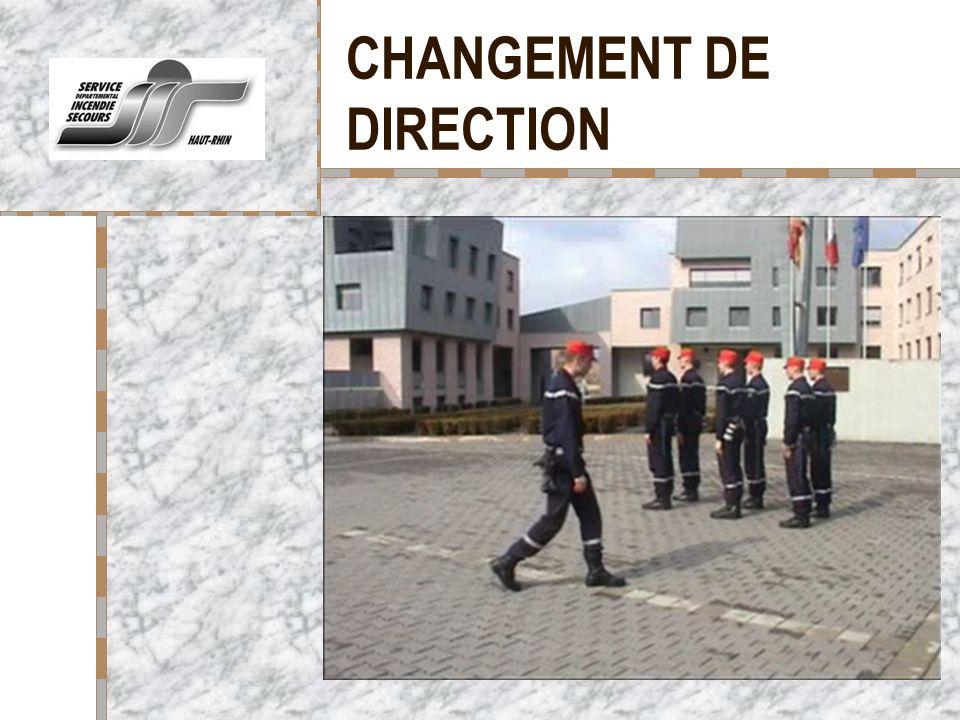 CHANGEMENT DE DIRECTION Votre logo ici