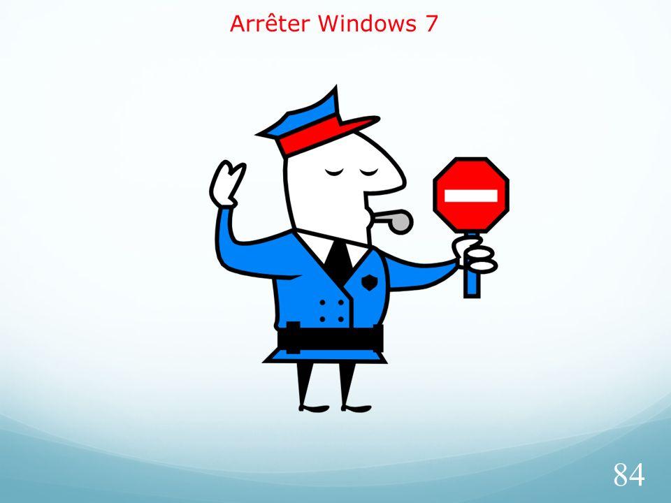Arrêter Windows 7 84