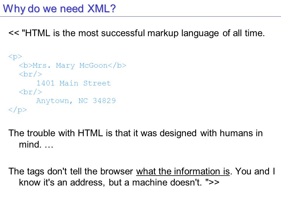 XML voué à la simplicité des échanges est aujourd hui une galaxie.
