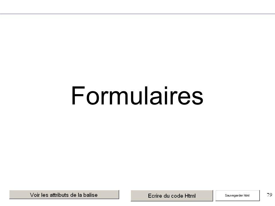 79 Formulaires