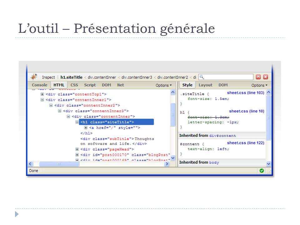 Exemple – Récupérer un menu existant Copie du code CSS manquant Reste à arrondir les angles des bordures