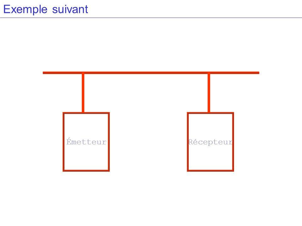 ÉmetteurRécepteur Exemple suivant ÉmetteurRécepteur