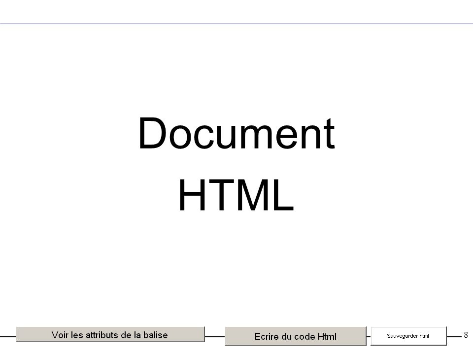 8 Document HTML