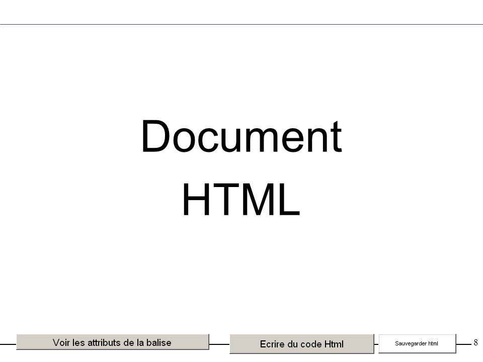 99 HTML 4 Ne pas confondre HTML dynamique et HTML 4 HTML dynamique : nom générique des versions spécifiques de Microsoft et Netscape pour faire évoluer HTML dans le domaine de l animation des pages.