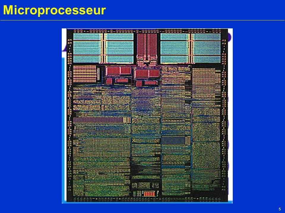 5 Microprocesseur