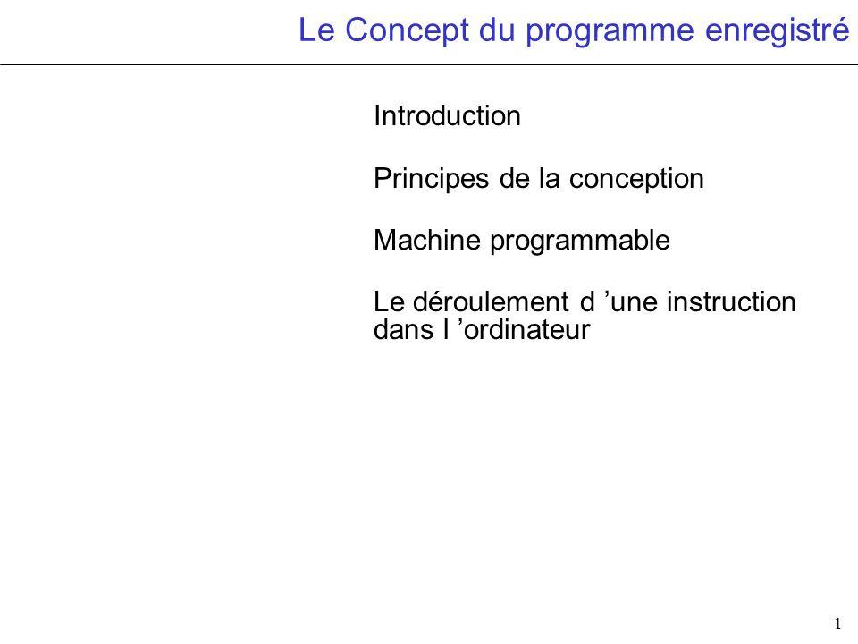 2 Objectifs Il est important de comprendre comment un ordinateur peut exécuter des applications de domaines totalement différents sans modifier son architecture interne.