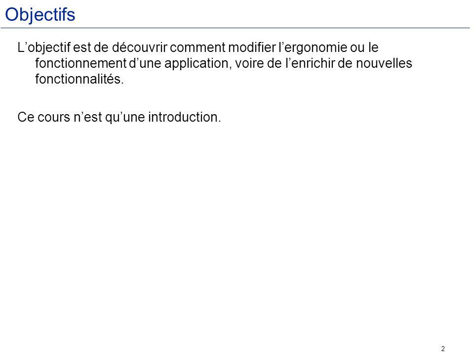 13 1 création de linterface Ajouter des contrôle à la UserForm Vous pouvez modifier directement les propriétés de La Userform : Ex : Apparence/Caption = Convertion dollar Euro