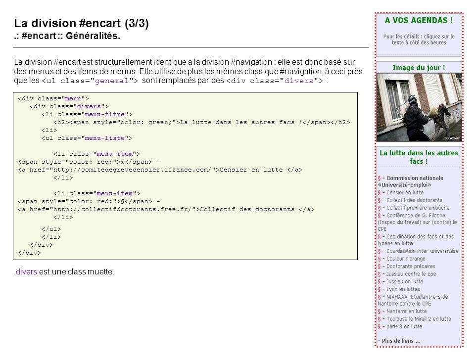 La division #encart (3/3).: #encart :: Généralités.