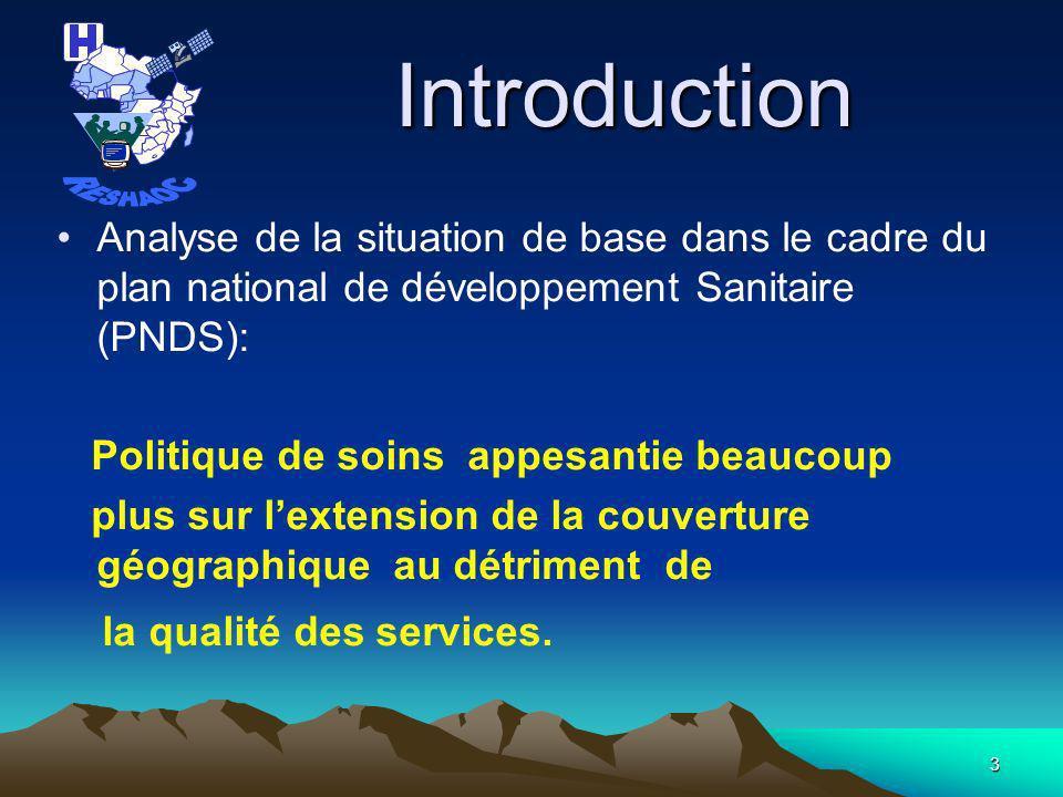 2 PLAN DE LA PRESENTATION Introduction Outils actuels dA Q S en application en Guinée Résultats Obtenus Perspectives Conclusion