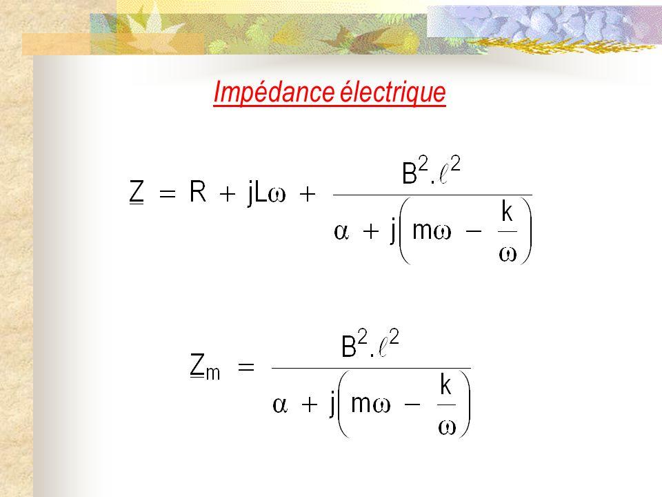 Impédance électrique