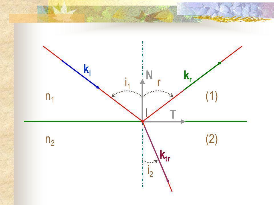 T N I kiki n1n1 (1) n2n2 (2) i1i1 krkr k tr r i2i2