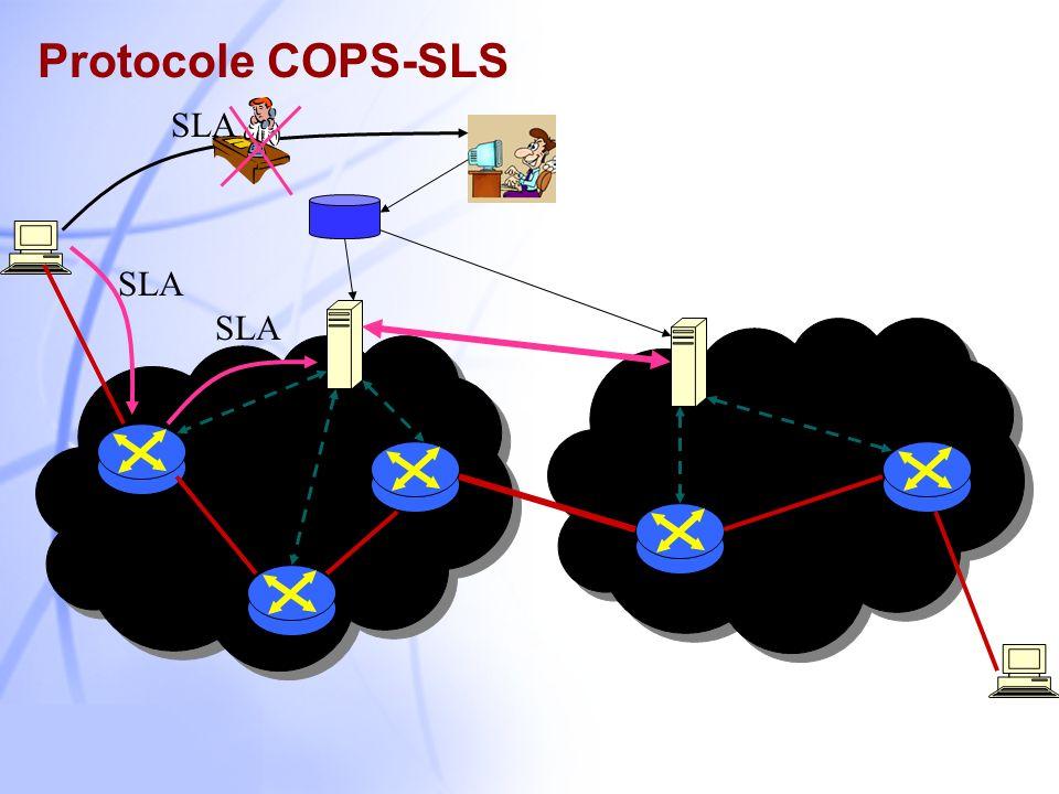 6 EntêteObjet …… VersionFlagsOp-CodeClient-type Message Length OPN CAT CC KA REQ DEC RPT DRQ SSQ SSC COPS-RSVP COPS-PR COPS-TE COPS-SLS COPS-MU Format