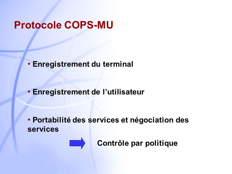 8 Modèle de COPS-SLS