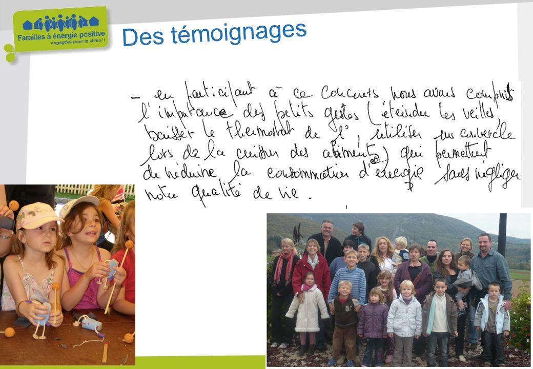 www.familles-a-energie-positive.fr Des témoignages