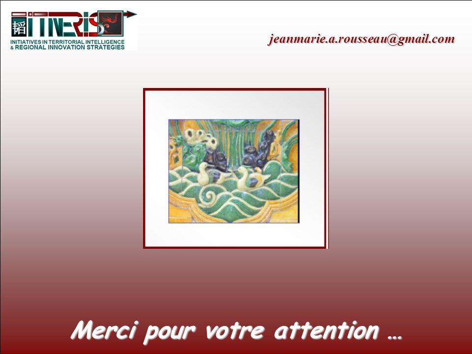 jeanmarie.a.rousseau@gmail.com Merci pour votre attention …