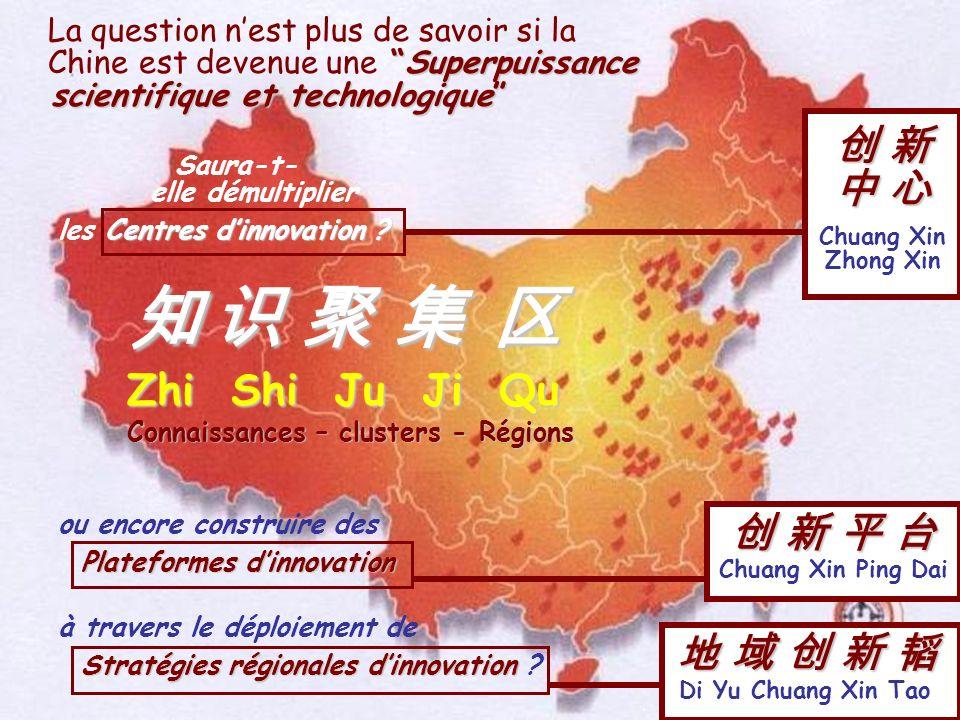 La question nest plus de savoir si la Superpuissance Chine est devenue une Superpuissance scientifique et technologique scientifique et technologique