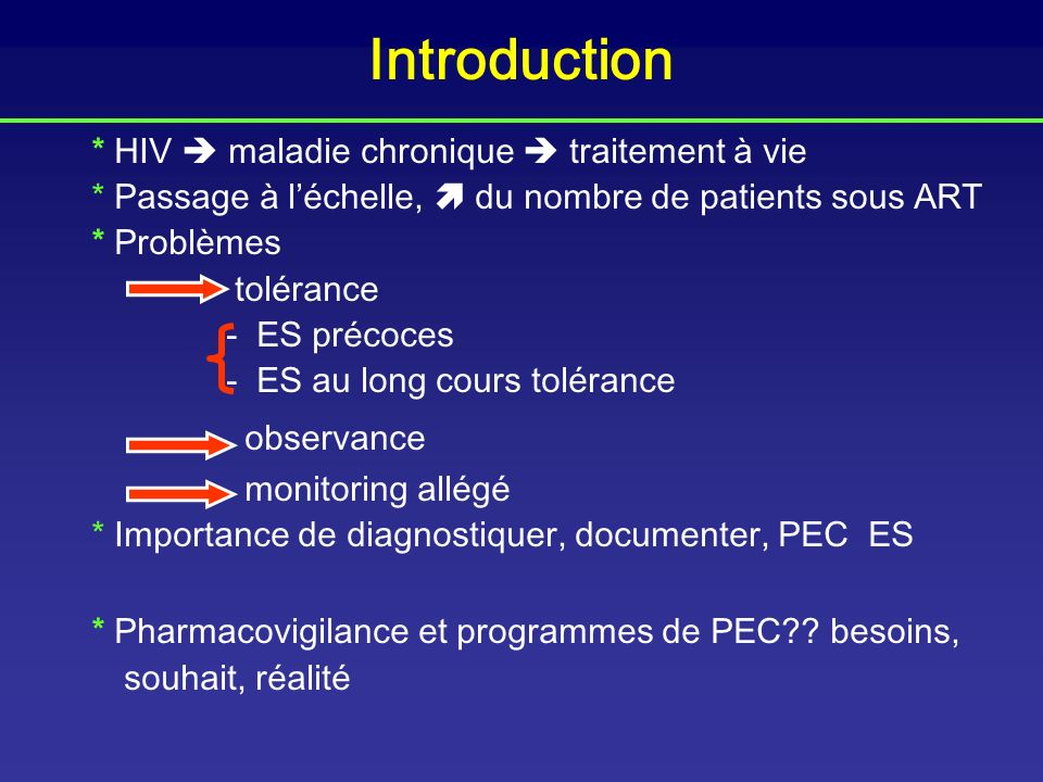 Lessons learned from use of highly active antiretroviral therapy in Africa Akileswaran c, CID 2006 (28 articles consultés) Variables -données cliniques (mortalité, IOs, poids ) -observance -données immunologiques -données virologiques (CV, résistance) - Effets secondaires .
