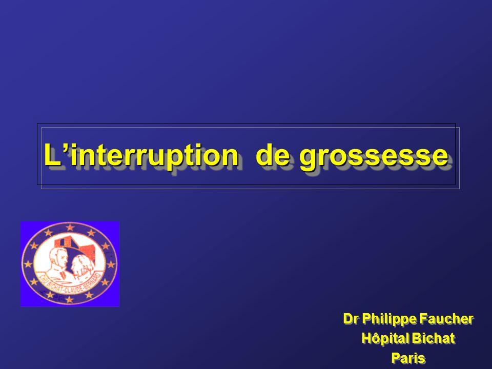 Linterruption de grossesse Dr Philippe Faucher Hôpital Bichat Paris Dr Philippe Faucher Hôpital Bichat Paris