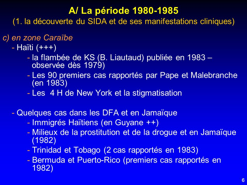 7 A/ La période 1980-1985 (2.