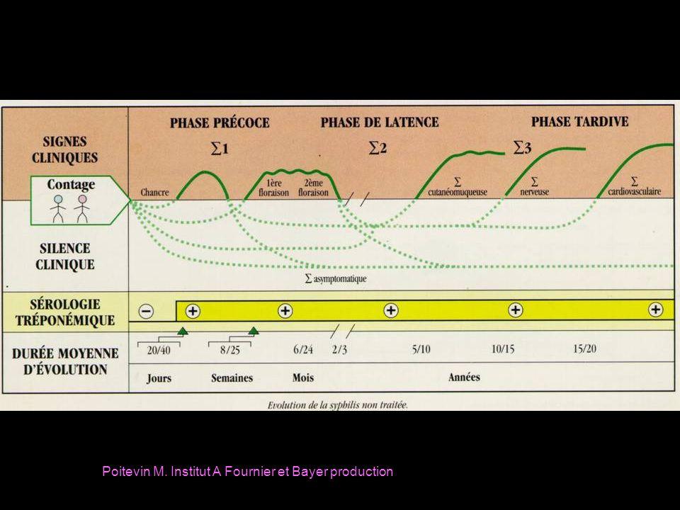 PNC-G cristalline: 2-4 Millions IV q 4 hres x 14 j PNC-procaine: 1,2 Millions IM x 1 x 10-14 j + Probenecide: 500mg p os x 4 x 10-14 j Alternative si allergie: Doxycycline 200 mg p os x2 x 30 j Tetracycline 500 mg p os x4 x 30 j NEURO-SYPHILIS (WHO,2004)