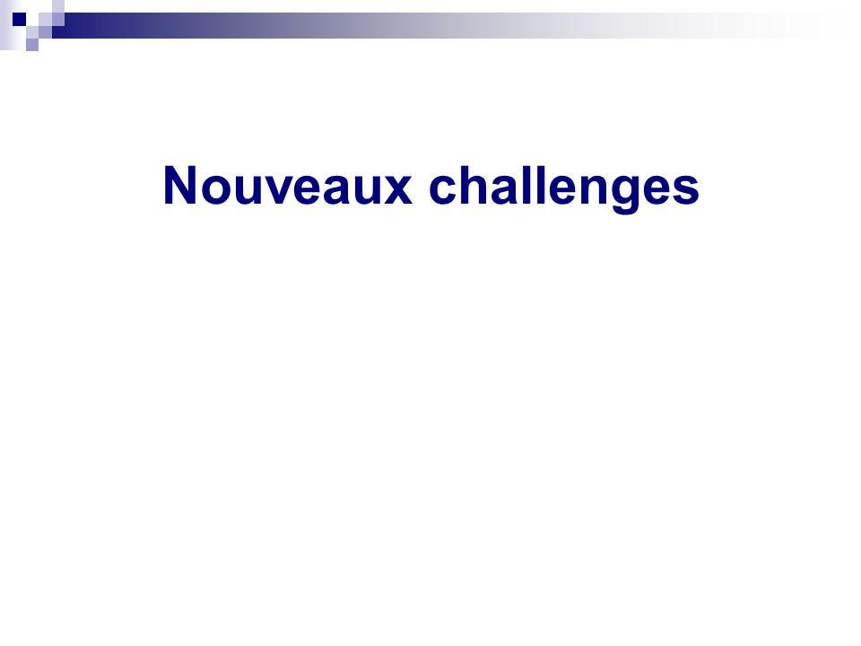 Nouveaux challenges