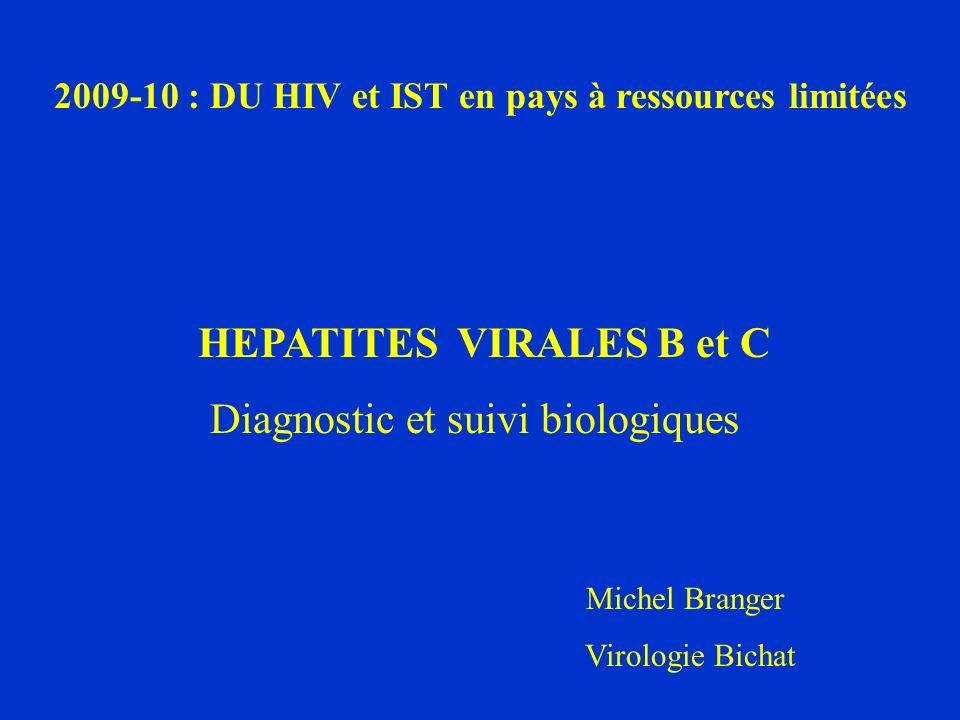 HBV : suivi virologique des patients traités I – L évaluation virologique pré-thérapeutique : A - le typage de lHBV : - génotype ( LIPA ou séquençage ) - nombreuses études sur les implications en clinique :.