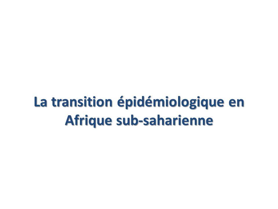 La transition épidémiologique en Afrique sub-saharienne