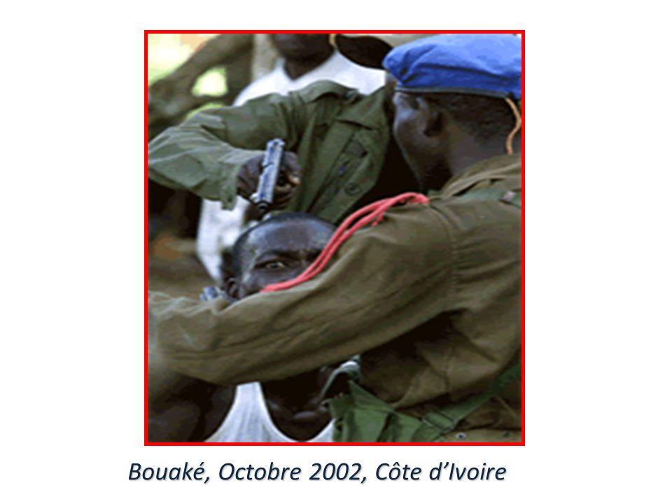 Bouaké, Octobre 2002, Côte dIvoire