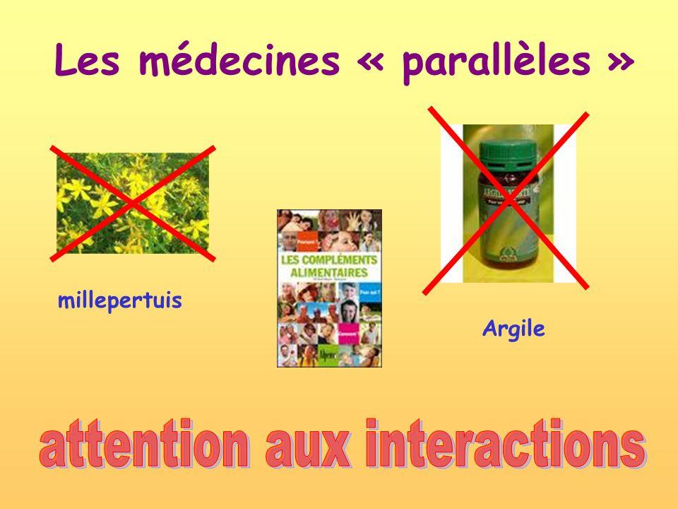 Les médecines « parallèles » millepertuis Argile