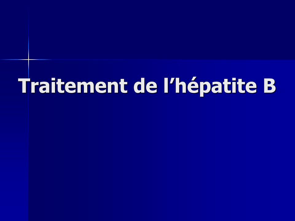 Traitement de lhépatite B