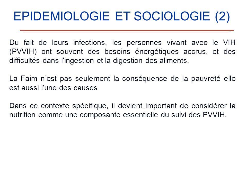 Du fait de leurs infections, les personnes vivant avec le VIH (PVVIH) ont souvent des besoins énergétiques accrus, et des difficultés dans l'ingestion