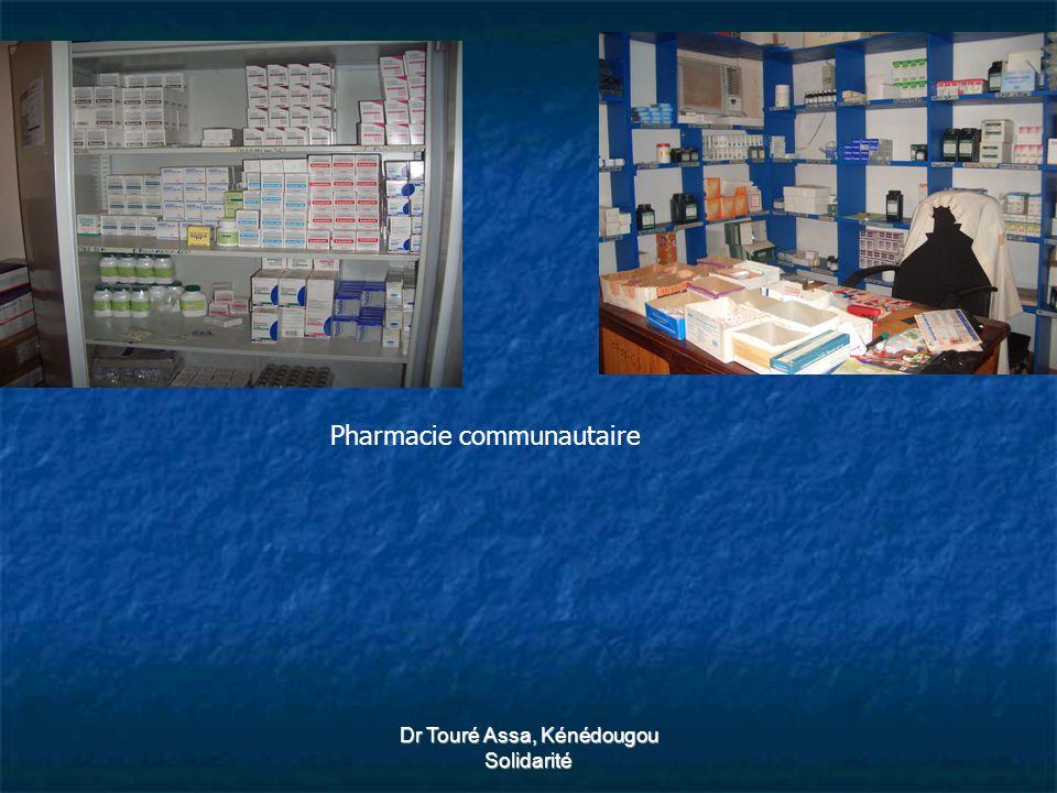 Dr Touré Assa, Kénédougou Solidarité Pharmacie communautaire
