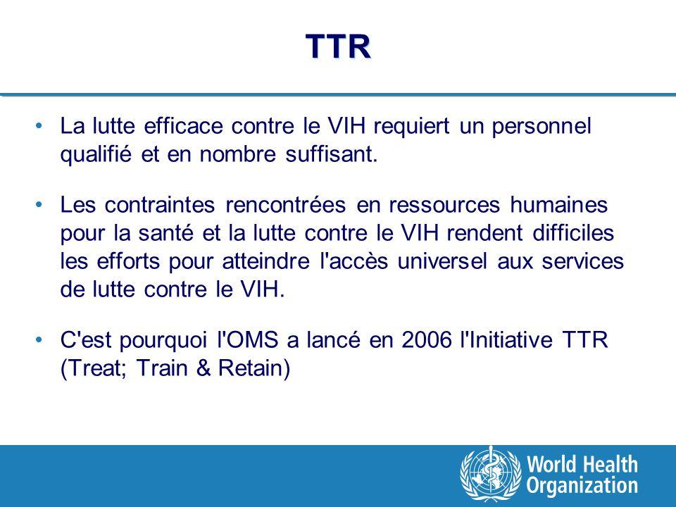 TTR La lutte efficace contre le VIH requiert un personnel qualifié et en nombre suffisant.