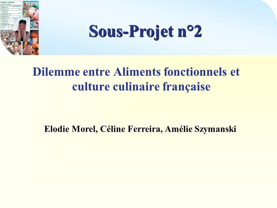 Sous-Projet n°2 Partenaires : Contacts effectués : La Tradition LArdoise Côté Nord Le Fourquet Ekilibre Vivre et Savourer