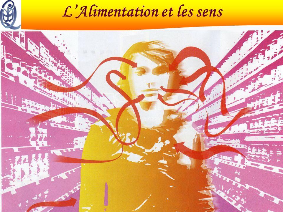 15 décembre 2004 Master QUALIMAPALalimentation et les sens LAlimentation et les sens