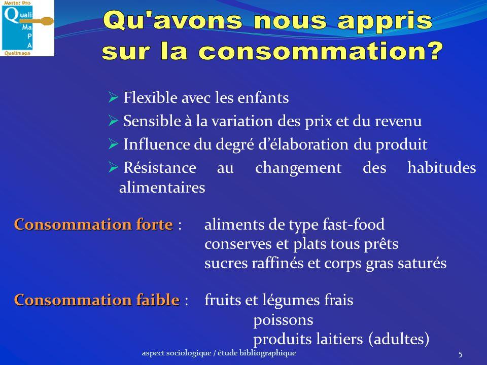aspect sociologique / propositions16 Particularités et caractéristiques du produit Marque.