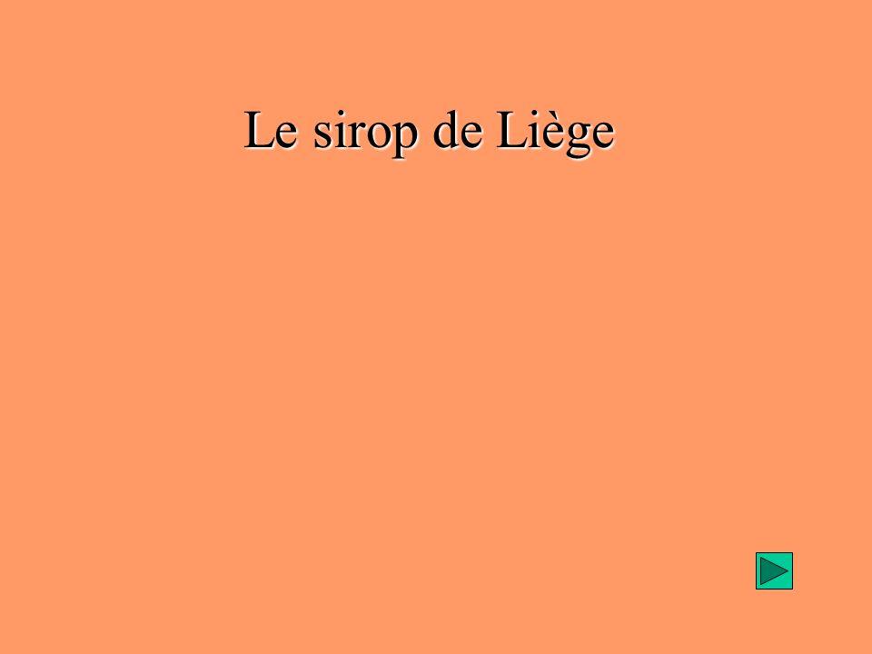 Présentation du produit Bref historique : naissance du produit au 17 ème siècle, au pays de Herve (province de Liège), pour conserver les fruits et en consommer toute lannée.
