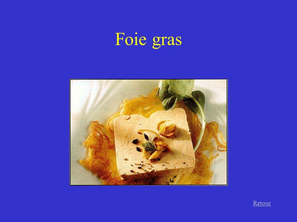 Foie gras Retour