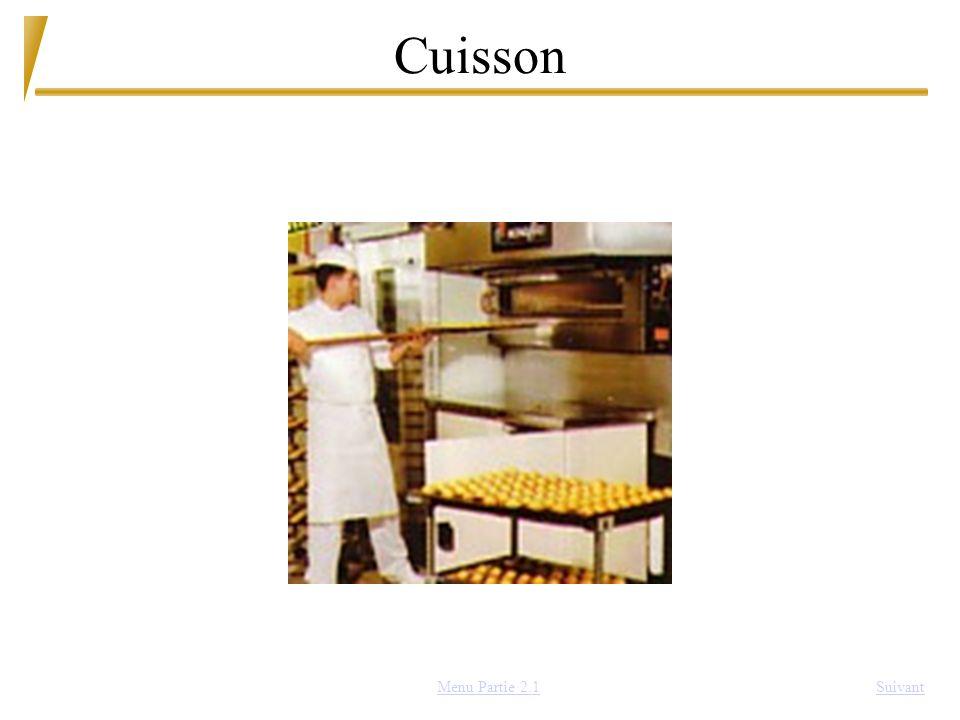Cuisson SuivantMenu Partie 2.1
