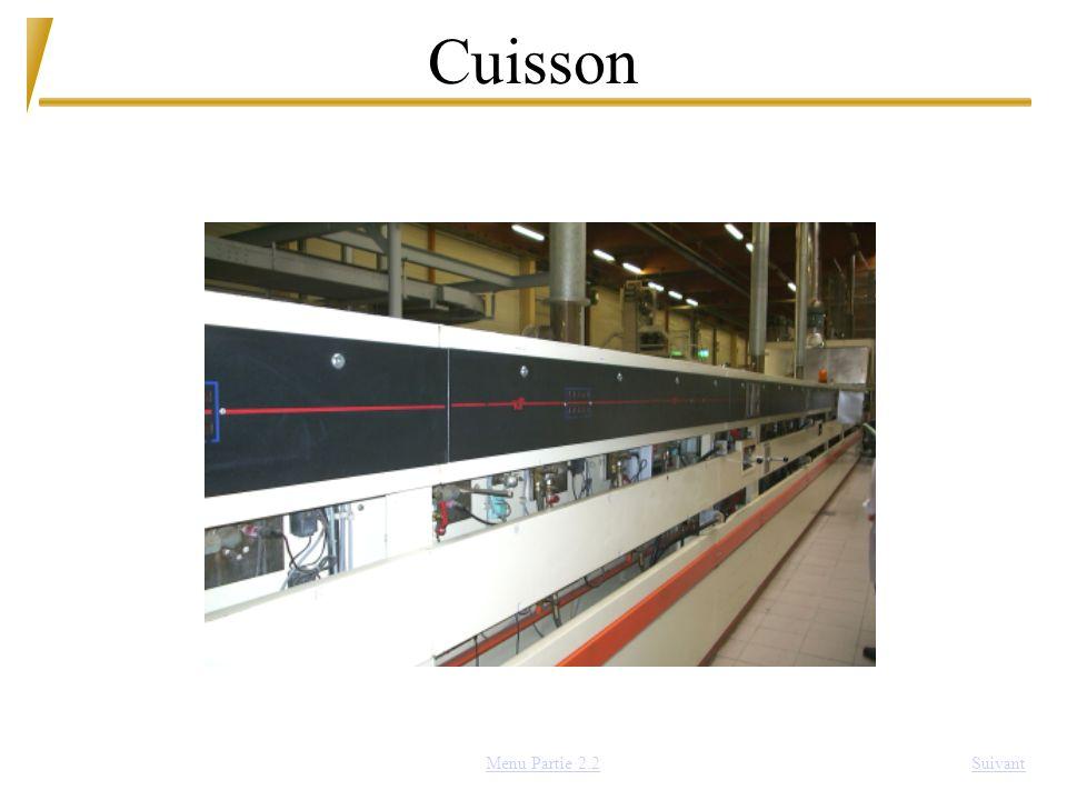 Cuisson SuivantMenu Partie 2.2