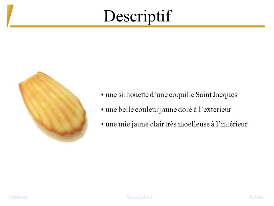 Descriptif SuivantPrécédent une silhouette dune coquille Saint Jacques une belle couleur jaune doré à lextérieur une mie jaune clair très moelleuse à