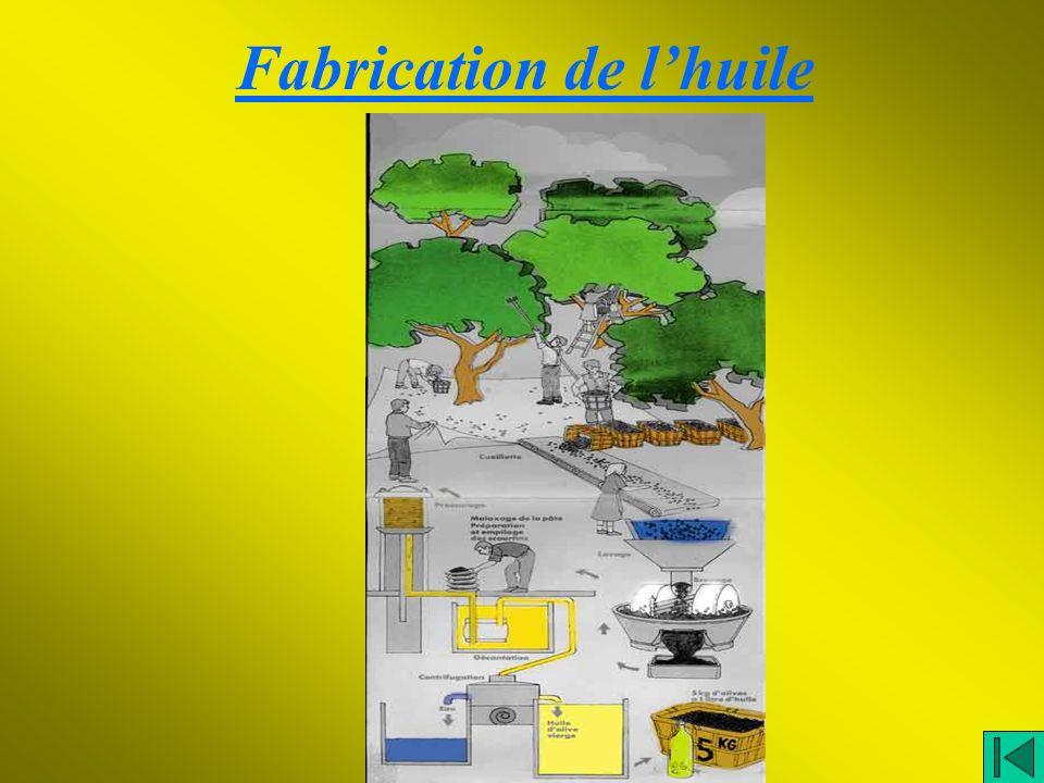 Fabrication de lhuile